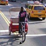 Pedal Rickshaw (StreetView)