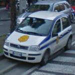 Law enforcement vehicle (StreetView)