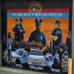 NYPD mural