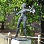 Statue of Mata Hari (StreetView)