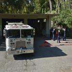 Fire Truck and Firefighters (StreetView)