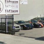 Bentley Continental GT, Ferrari_612_Scaglietti and Ferrari F430 Spider (StreetView)