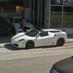 Bentley, Ferrari F40 and Mercedes Benz (StreetView)