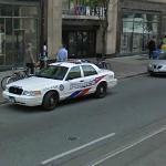 Toronto Police Car (StreetView)