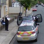 Police in action (StreetView)