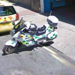 London Police Motorcycle (StreetView)