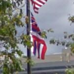 Hawaii state flag (StreetView)