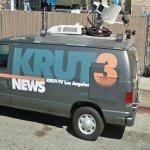 Phony news van