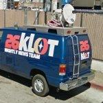 Phony news van
