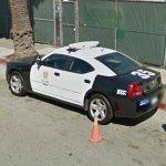 Fake police car?