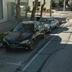 BMW 7 Series (2011) and 3 series (1987) (StreetView)