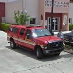 Hialeah Fire Rescue car
