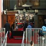 Preparations for the Hollywood Premiere of Arthur