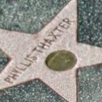 Phyllis Thaxter's Hollywood star