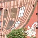 Curtain mural