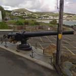 Gun from the SS Laurentic (StreetView)