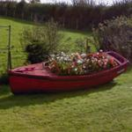 Boat planter (StreetView)