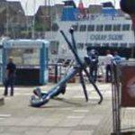 Ship mast & anchor