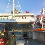 Aboard the MF Stord ferry (StreetView)