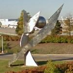 'Global and Flight Celeberation' by Clarence E. van Duzer (StreetView)