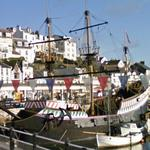 Golden Hind replica (StreetView)