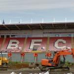 Bloomfield Road Under Construction