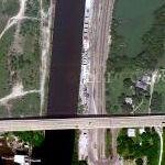 Chicago Sanitary & Ship Canal Dispersal Barrier System (Google Maps)
