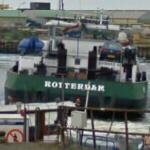 Car aboard the Rotterdam
