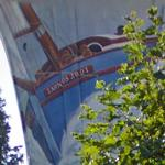 Artistic Water Tower - Boat (StreetView)
