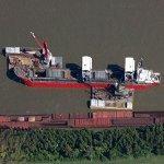 Self offloading barge 'Gayle Eustace'