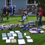 Garage sale (StreetView)