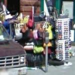 Purses and Sunglasses Stand (StreetView)