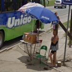 Roadside vendor (StreetView)