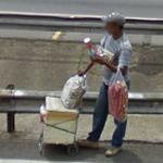 Roadside vendor