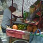 Fruit seller (StreetView)