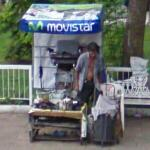 Movistar shoeshine