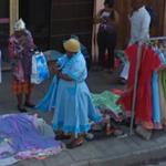 Colorful dresses for sale (StreetView)