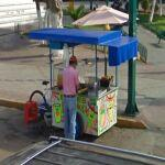 Fruit drink cart