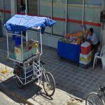 Blue Juice cart (StreetView)