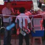 Flip-flops for sale (StreetView)