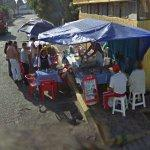 Popular little food stand (StreetView)