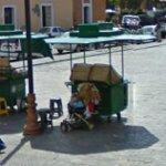 Couple of food carts (StreetView)