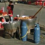 Large tub of food (StreetView)