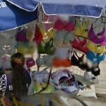 Bras for sale (StreetView)