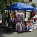Street clothing sales