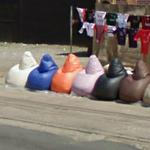 Bean bag chairs for sale (StreetView)