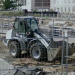 Excavator & Front Loader