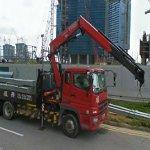Crane truck (StreetView)