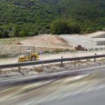 Road roller & Excavator