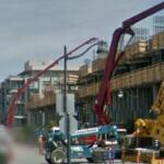 Pumping concrete (StreetView)